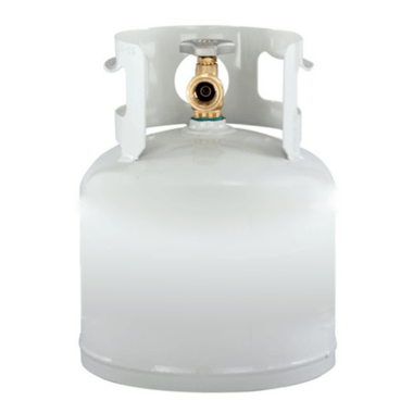 GCS 4 lb Propane Cylinder Reconditioned