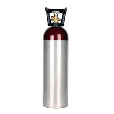 Gas Cylinder Source 60 cu ft Aluminum Argon Cylinder