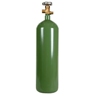 60 cuft Steel Oxygen Cylinders - Gas Cylinder Source