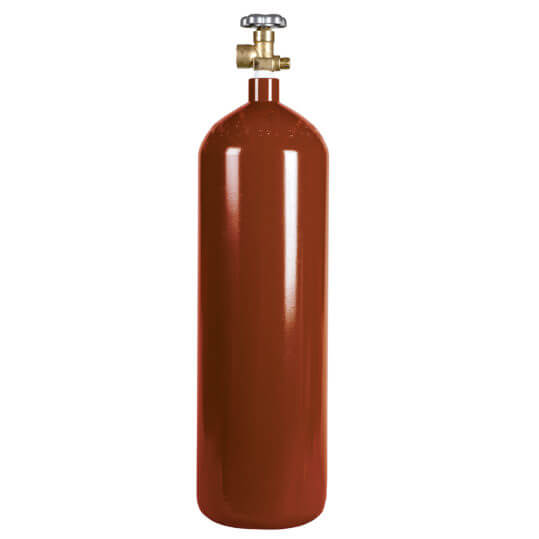 60 cu ft Steel CO2 Nitrogen Mix Cylinder
