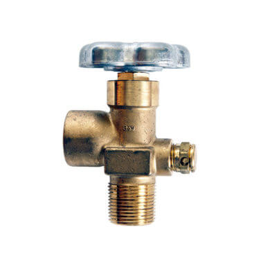 Gas Cylinder Source Sherwood CGA590 Sulfur Hexafluoride Valve