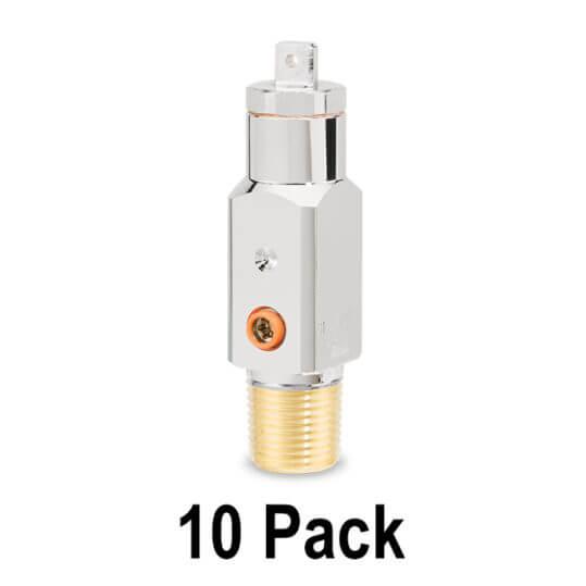 Gas Cylinder Source Sherwood CGA870 Medical Oxygen Post Valve 10 Pack