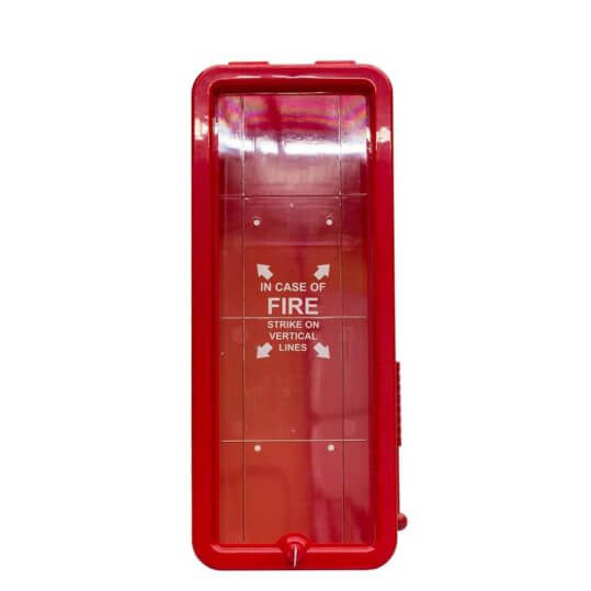 10LB Fire Extinguisher Cabinet - Red