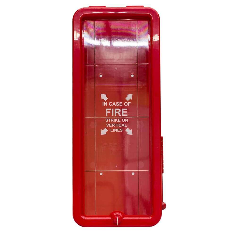 20LB Fire Extinguisher Cabinet - Red