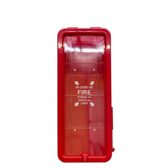 5LB Fire Extinguisher Cabinet - Red