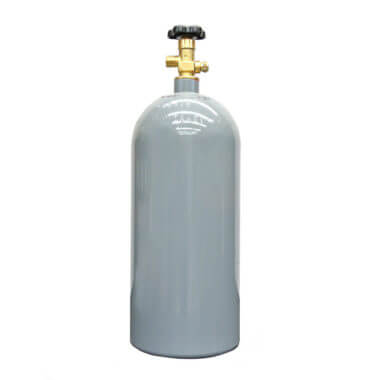 Reconditioned 10 lb Aluminum CO2 Cylinder from Gas Cylinder Source