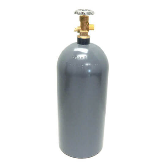 Reconditioned 15 lb Aluminum CO2 Cylinder from Gas Cylinder Source