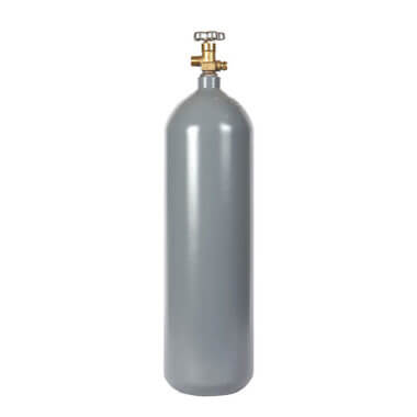 Reconditioned 15 lb Steel Cylinder from Gas Cylinder Source