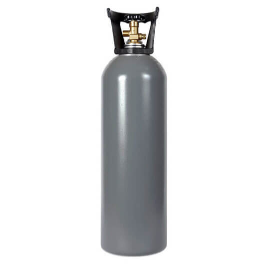 Reconditioned 20 lb Aluminum Cylinder with Handle
