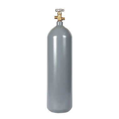 Reconditioned 20 lb Steel CO2 Cylinder from Gas Cylinder Source