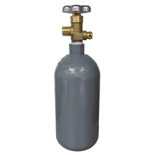 2.5 lb Reconditioned Steel CO2 Cylinder