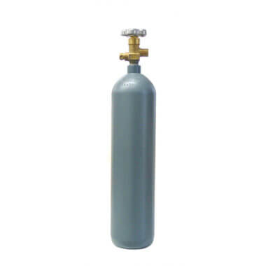 Reconditioned 4 lb Steel CO2 Cylinder from Gas Cylinder Source