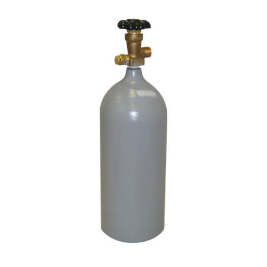 5 lb reconditioned steel CO2 cylinder from Gas Cylinder Source