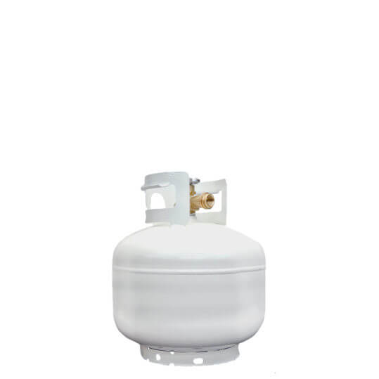 Gas Cylinder Source 10 lb Reconditioned Steel Pan Propane LP Cylinder