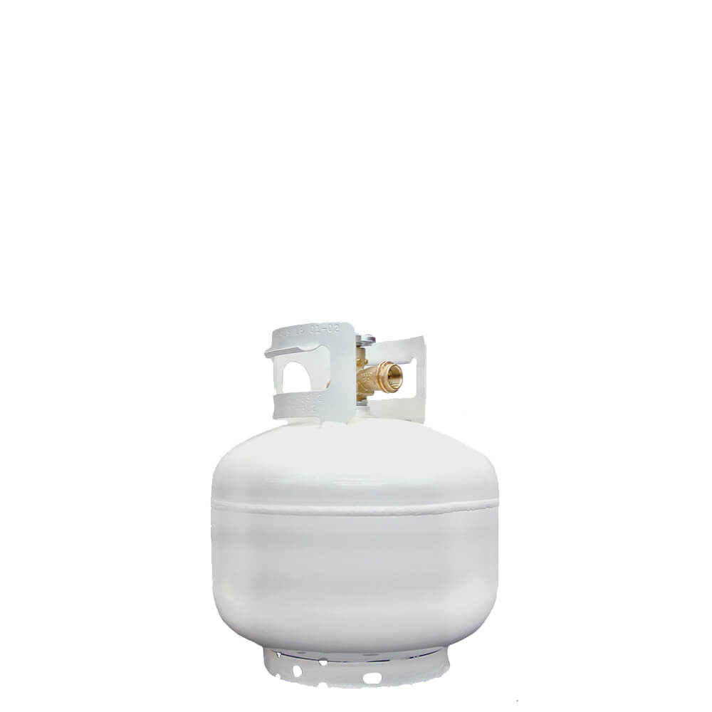 10 lb Reconditioned Steel Pan Propane / LP Cylinder