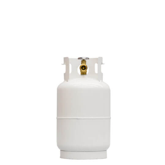 Gas Cylinder Source 10 lb Reconditioned Steel Propane / LP Cylinder