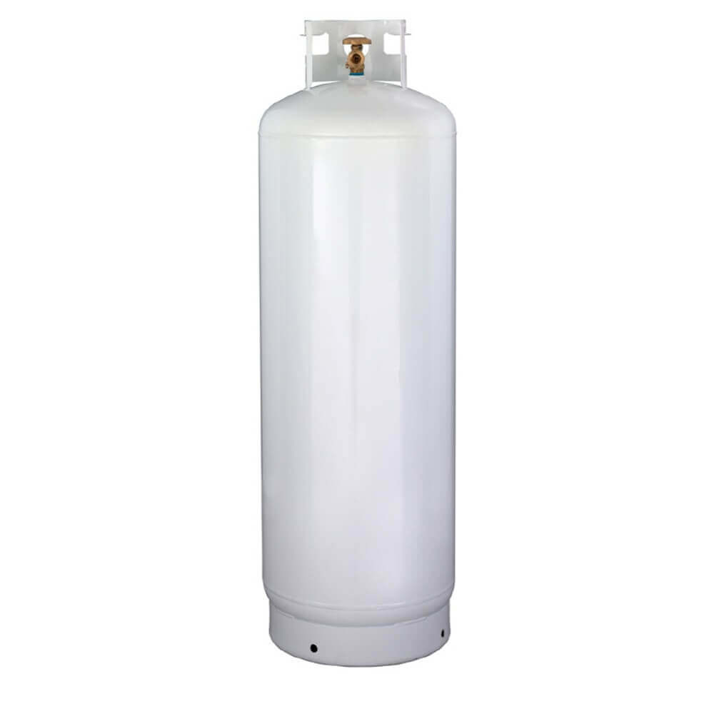 New 100 Lb Steel Propane Tank With Pol Valve Gas Cylinder Source