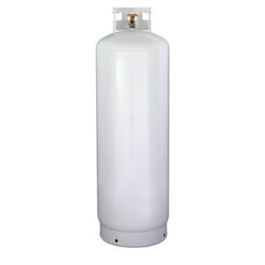 Gas Cylinder Source 100 lb Steel Propane Cylinder