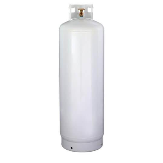 Gas Cylinder Source 100 lb Steel Propane Cylinder