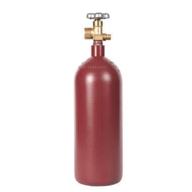 Gas Cylinder Source 20 cu ft Steel Helium Cylinder
