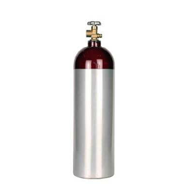 Gas Cylinder Source 22 cu ft Aluminum CO2 Nitrogen Mix Cylinder