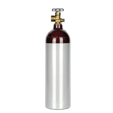 Gas Cylinder Source 22 cu ft Aluminum Helium Cylinder