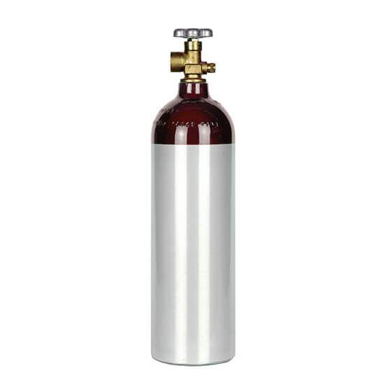 Gas Cylinder Source 22 cu ft Aluminum Helium Cylinder
