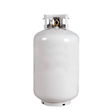 Gas Cylinder Source 30 Lb Reconditioned Steel Propane LP Cylinder