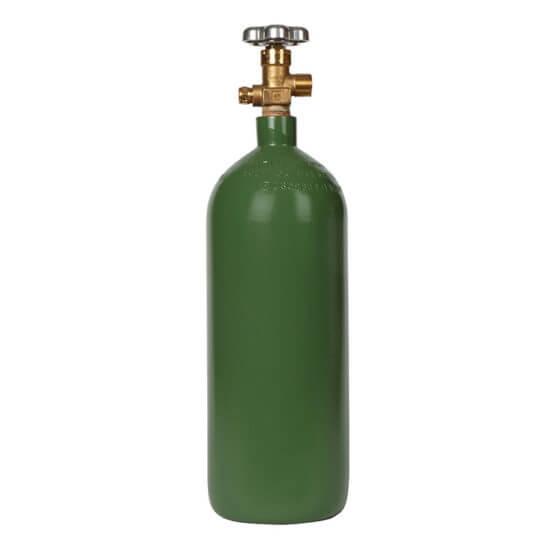 Gas Cylinder Source 40 cu ft Steel Oxygen Cylinder