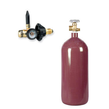 Gas Cylinder Source 40 cu ft Helium Balloon Kit Helium-Cylinder Balloon Filler Valve