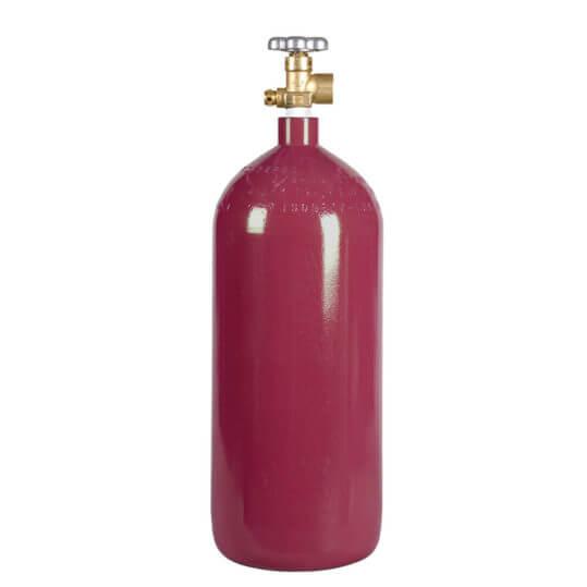 Argon Cylinder 40 cu ft Steel New