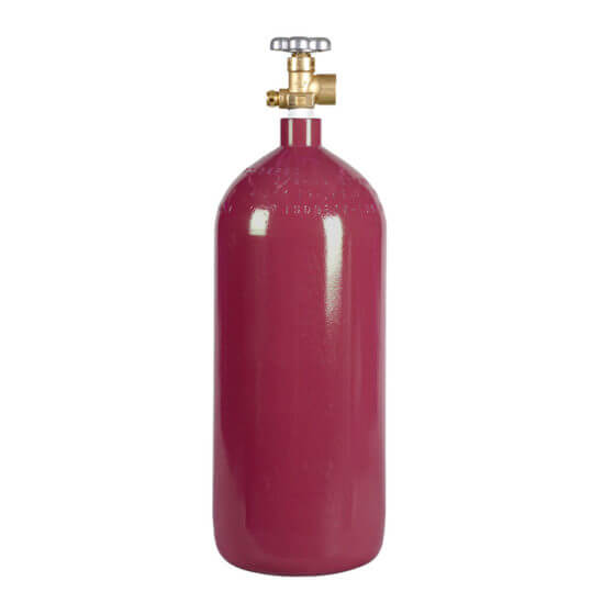 Helium Cylinder 40 cu ft Steel New