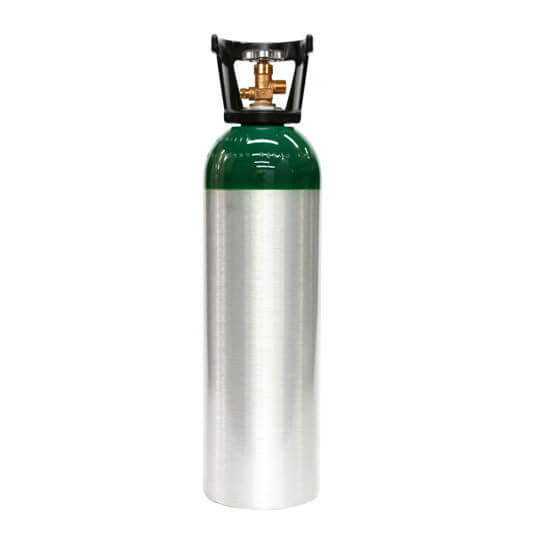 Gas Cylinder Source 60 cu ft Aluminum Oxygen Cylinder with Handle