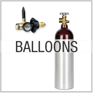 Helium Balloon Tanks, Kits, and Inflators