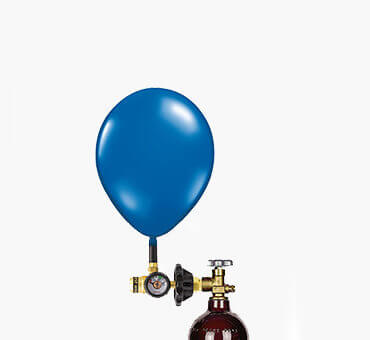 Helium Balloon Cylinders, Regulators, and Kits