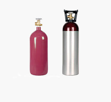 Inert Gas Cylinders from Gas Cylinder Source