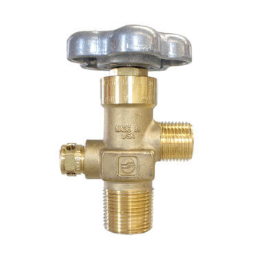 Gas Cylinder Source CGA320 CO2 Valve Three Quarter Inch NGT