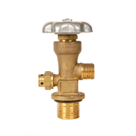Gas Cylinder Source Sherwood CGA346 Breathing Air Valve One One Quarter Inch UNF Straight