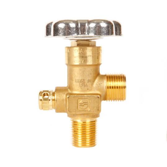 Gas Cylinder Source Sherwood CGA540 Oxygen Manifold Valve One Half Inch