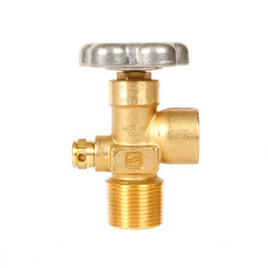 Gas Cylinder Source Sherwood CGA580 Inert Gas Valve One Inch
