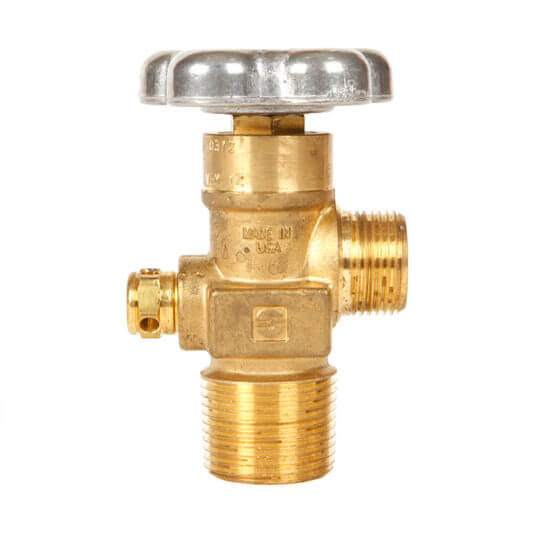Gas Cylinder Source Sherwood CGA677 Inert Gas Valve One Inch