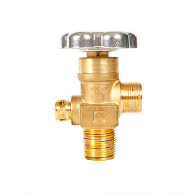 Gas Cylinder Source Sherwood CGA677 Inert Gas Valve Three Quarter Inch