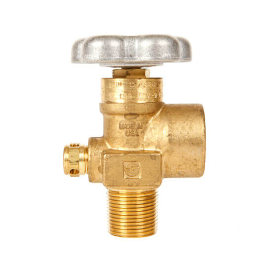 Gas Cylinder Source Sherwood CGA680 Inert Gas Valve Three Quarter Inch Minus 14