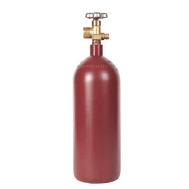 Gas Cylinder Source 20 cu ft steel argon cylinder