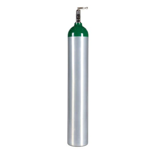 Medical E Size Oxygen Tank With Toggle Post Valve