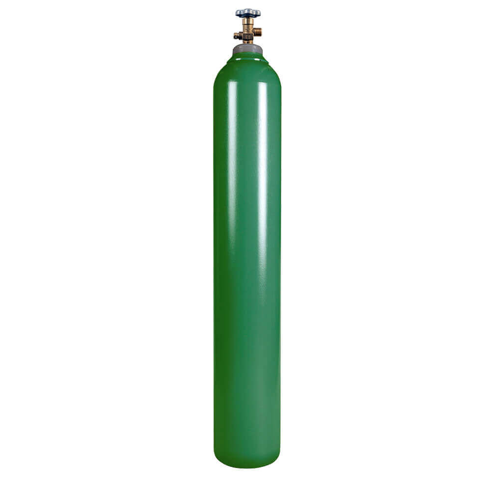 New 150 cuft Steel Oxygen Cylinder from gas Cylinder Source
