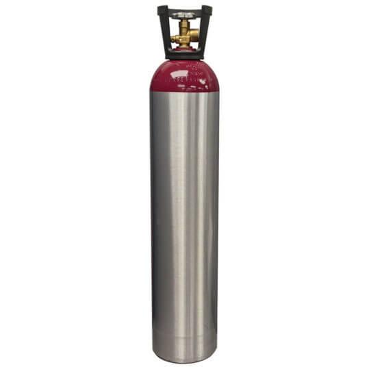 Reconditioned 90 cubic foot Aluminum