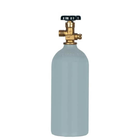 Reconditioned 2.5 LB Aluminum CO2 Tank