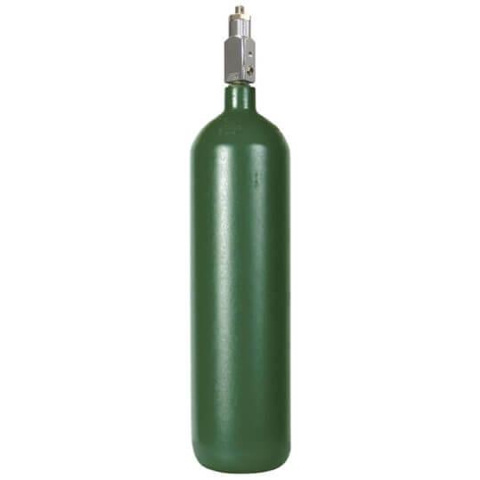 Medical D Oxygen Cylinder Steel Re-Qualified