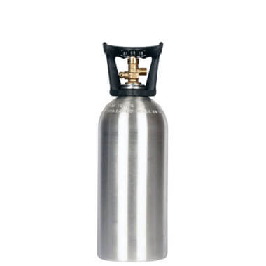 Gas Cylinder Source 10 lb Aluminum CO2 Cylinder